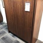 1-25354 Mid Century Walnut Cabinet