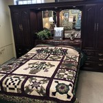 1-25560 Thomasville Queen Bedroom Wall Unit