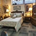 1-25408 Century Armoire, 2 Nightstands, Dresser, Full or Queen Headboard