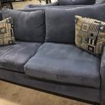 1-26391 Blue Sofa