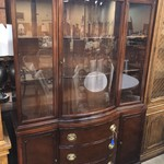 1-26460 Mahogany China Cabinet