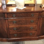 "1-26410 ""Sligh Furniture"" Grand Rapids Mahogany Buffet"