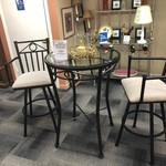 1-27089 Bistro Table with 2 Chairs