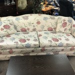 1-27659 Ethan Allen Floral Sofa