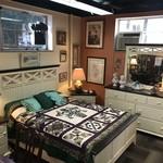 1-27759 Broyhill White Queen 4 Piece Bed, Dresser w/ Mirror, 2 Nightstands
