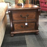 1-28036 Wood End Table