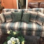 1-28229 Beige Print Sofa