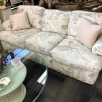 1-28475 Upholstered Print Sofa