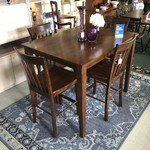 1-28770 High Top Table with 4 Chairs