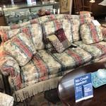 1-29216 Key City Stripped Sofa