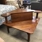 1-29418 Mid-Century Cherry Corner Coffee Table
