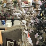1-29884 Victorian Girl Lamp