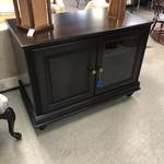 1-30001 Dark Wood TV Stand