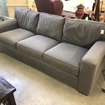 1-29851 Bauhaus Gray and Blue Sofa