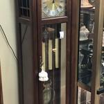 1-30115 Ridgeway Grandfather Clock, Cherry Cabinet