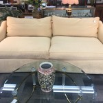 1-30251 Clayton Marcus Gold Sofa