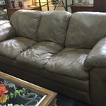 1-30347 La-Z-Boy Leather Sofa