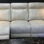 1-30334 Leather Power Sofa