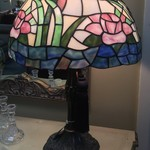 1-30326 Large Stain Glass Table Lamp