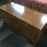 1-30360 Maple Cedar Chest w/ Key