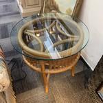 1-30433 Rattan End Table