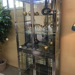 1-30568 Chrome Display Cabinet