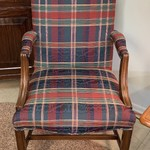 1-30796 Plaid Chair