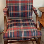 1-30797 Plaid Chair