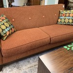1-30635 Burnt Orange Sofa
