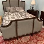 1-30812 Queen Upholstered 4 Piece Bed