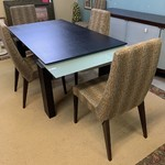 1-30875 PerLora Calligaris Table w/ 6 Chairs and Pads