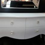 1-31045 White Custom Designer Dresser