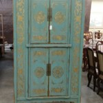 1-31123 Large Painted Cabinet