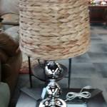 1-31113 Silver Pottery Barn Lamp