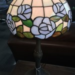 1-30950 Stained Glass Lamp