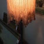 1-31268 Made In India Beaded Shade Lamp