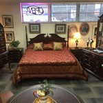1-31353 King Bed, Dresser, Armoire and 2 Nightstands