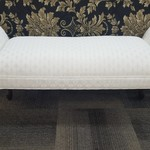 1-31444 White Bed Bench