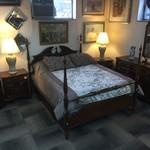 1-31671 Queen Poster Bed, Dresser w/ Mirror, Chest, Two Nightstands