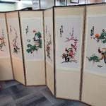 1-31652 Asian 6 Panel Room Divider