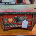 1-31636 Wooden Painted Box