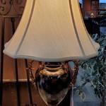 1-32010 Black and Copper Color Lamp
