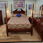 1-32090 PA House Queen Bed, Chest, Dresser w/ Mirror, Two Nightstands
