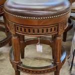 1-32039 Leather Top Bar Stool