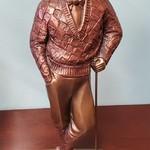 1-31157 Golfer Man Statue