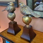 1-32121 Bird Book Ends