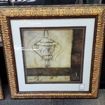 1-30821 Large Gold Framed Picture
