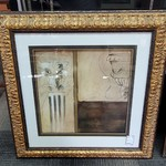 1-30820 Large Gold Framed Picture