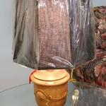1-25823 Small Brown Lamp