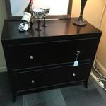 """1-32356 ArHaus Furniture Black Lateral File, 2 Drawer (L 38"""" W 20"""" H 32"""")"""